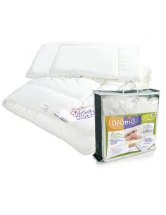 Kołderka z poduszką dla dziecka 135x100 BAMBOO