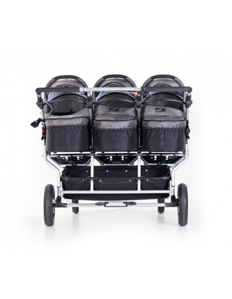 Wózek TFK Trio Twist Triplet - szary