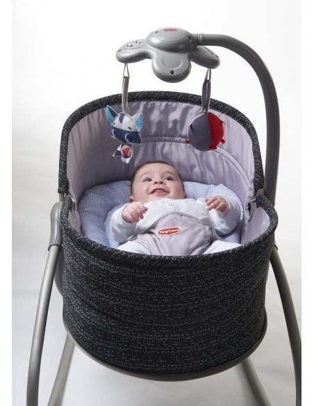 Wielofunkcyjny leżaczek-bujaczek-łóżeczko 3w1 - Luxe