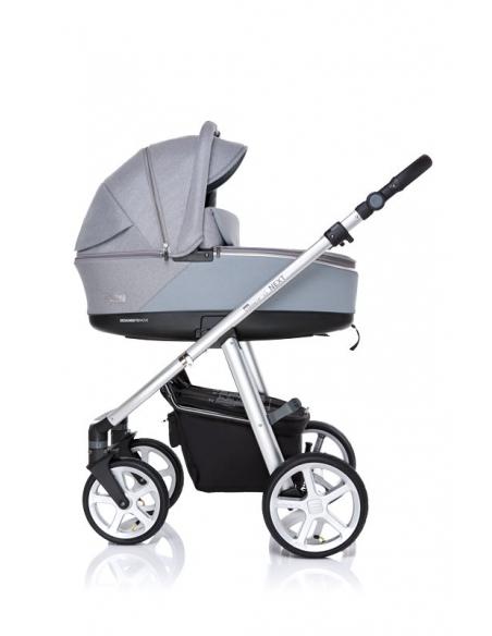Wózek 2w1 ESPIRO NEXT SILVER