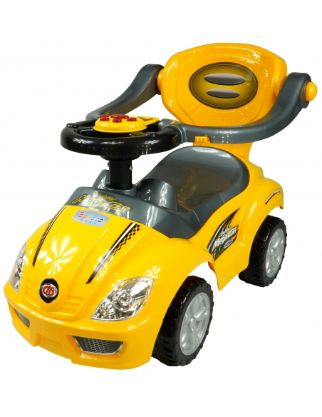 Jeździdełko 3w1 Mega Car Beticco Interaktywne