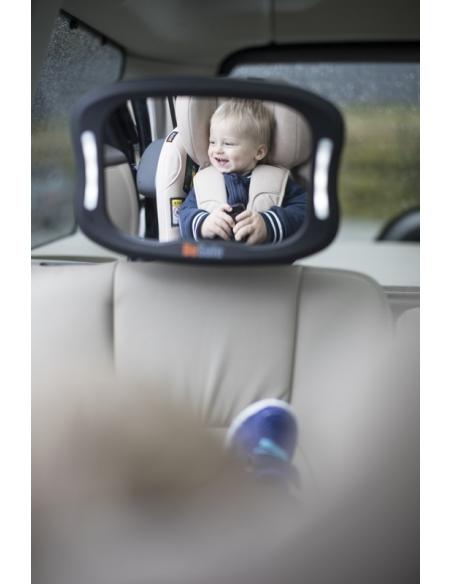 Lusterko do obserwacji dziecka XL z lampką