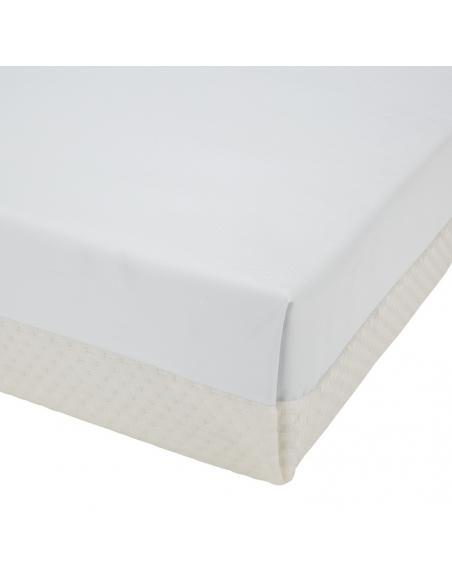 Materac 120x60/140x70 CuddleCo. do łóżeczka Harmony bambus, sprężyny bonellowe