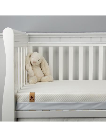 Materac 120x60/140x70 CuddleCo. do łóżeczka Lullaby bambus