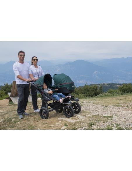 Gondola DuoX+adaptery do wózka Twin Trail 2/Twin Adventure 2