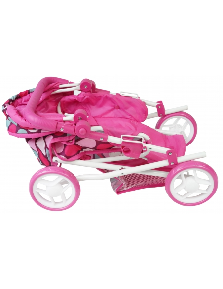Wózek dla lalek 2w1 Gondola z nosidełkiem Beticco Baby