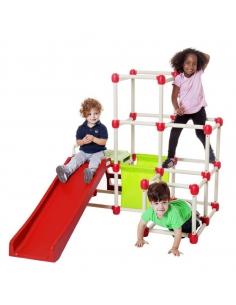 Drabinka dla dzieci Climb n' Slide Everest ze schodami i ślizgiem