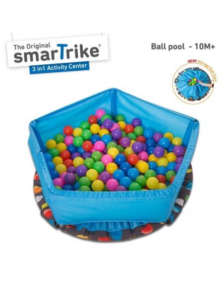 Trampolina składana/basen z piłeczkami 3w1 90cm 10m+