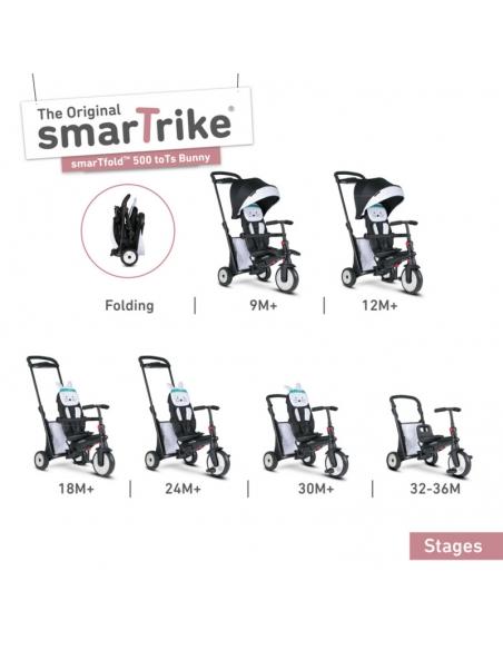 Smart Trike Składany rowerek Folding Trike 500 7w1 toTs
