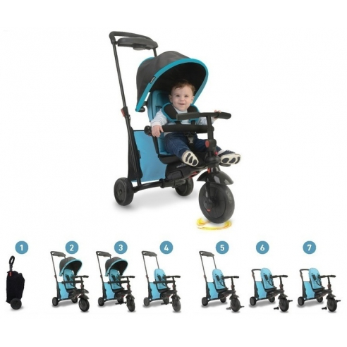 Smart Trike Składany rowerek Folding Trike™ 500 7w1