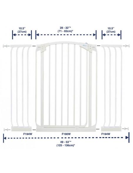 Bramka bezpieczeństwa Chelsea (W: 71-80cm x H: 1m)