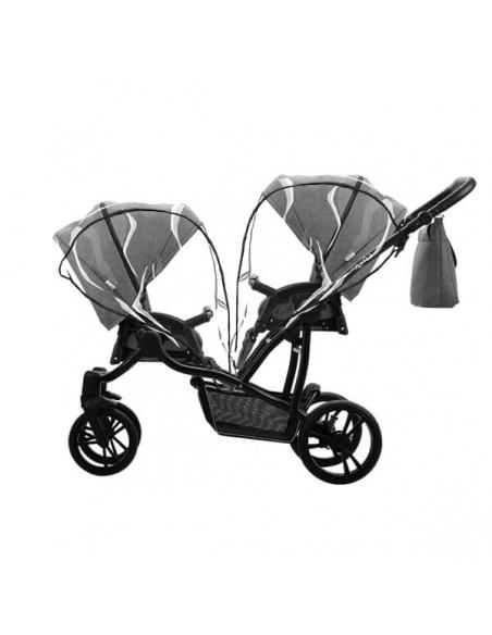 Bebetto42 Simple Wózek Bliźniaczy 2w1