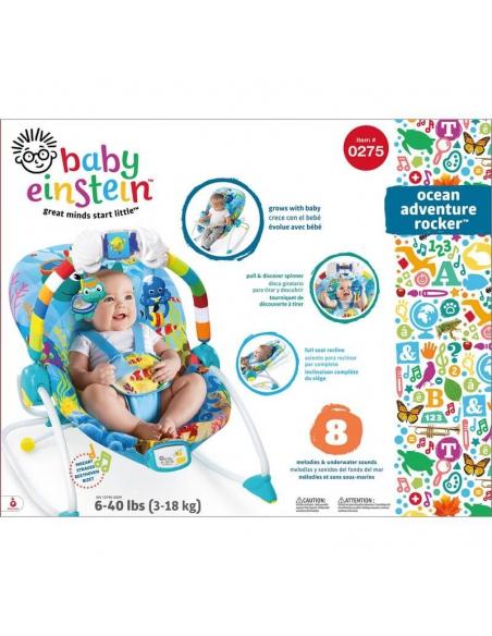 Bright Stars Baby Einstein Leżaczek Siedzisko 3-18 kg
