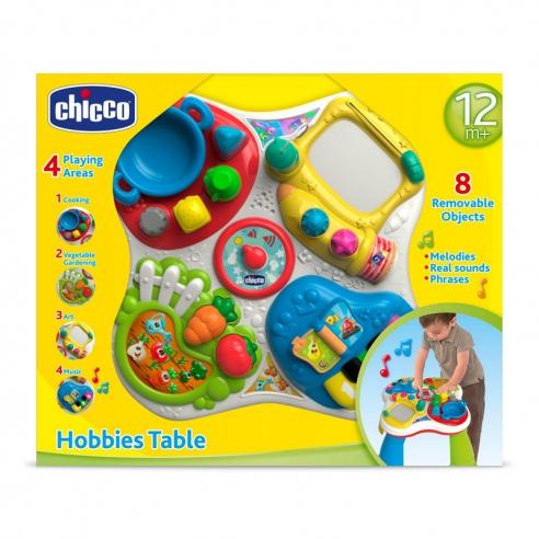 Chicco stolik edukacyjny hobby