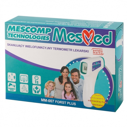 Mescomp Termometr Forst Plus MM007