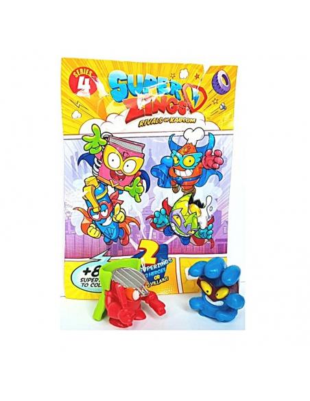 MagicBox Super Zings seria 4 saszetka (2 figurki)