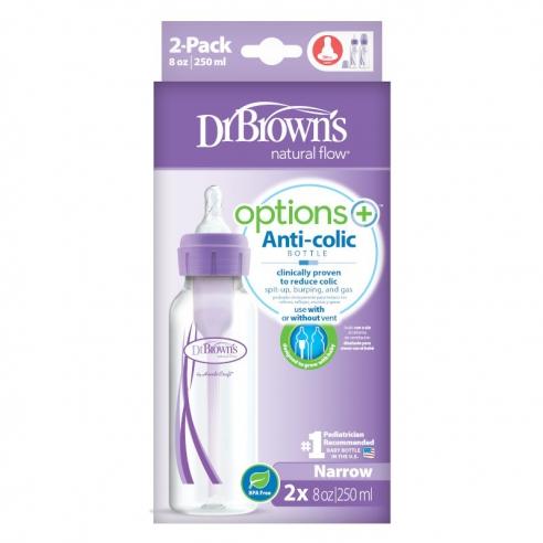 Dr. Brown's Butelka standardowa options+ w dwupaku 2x250ml