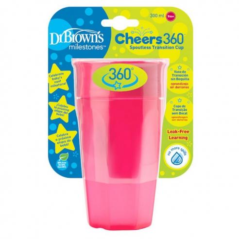 Dr.Brown's Kubek 360° picie jak ze szklanki 300 ml