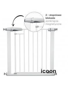 Barierka Bramka zabezpieczająca na schody Icoon 76-104 cm