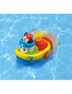 Dumel Nakręcona Łódka pływam i jeżdżę DD43250