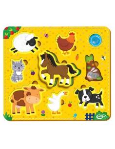 Dumel Puzzle Zwierzątka DD10304