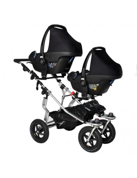 Zestaw adapterów do dwóch fotelików - wózek Twin Adventure/Duo - 2szt